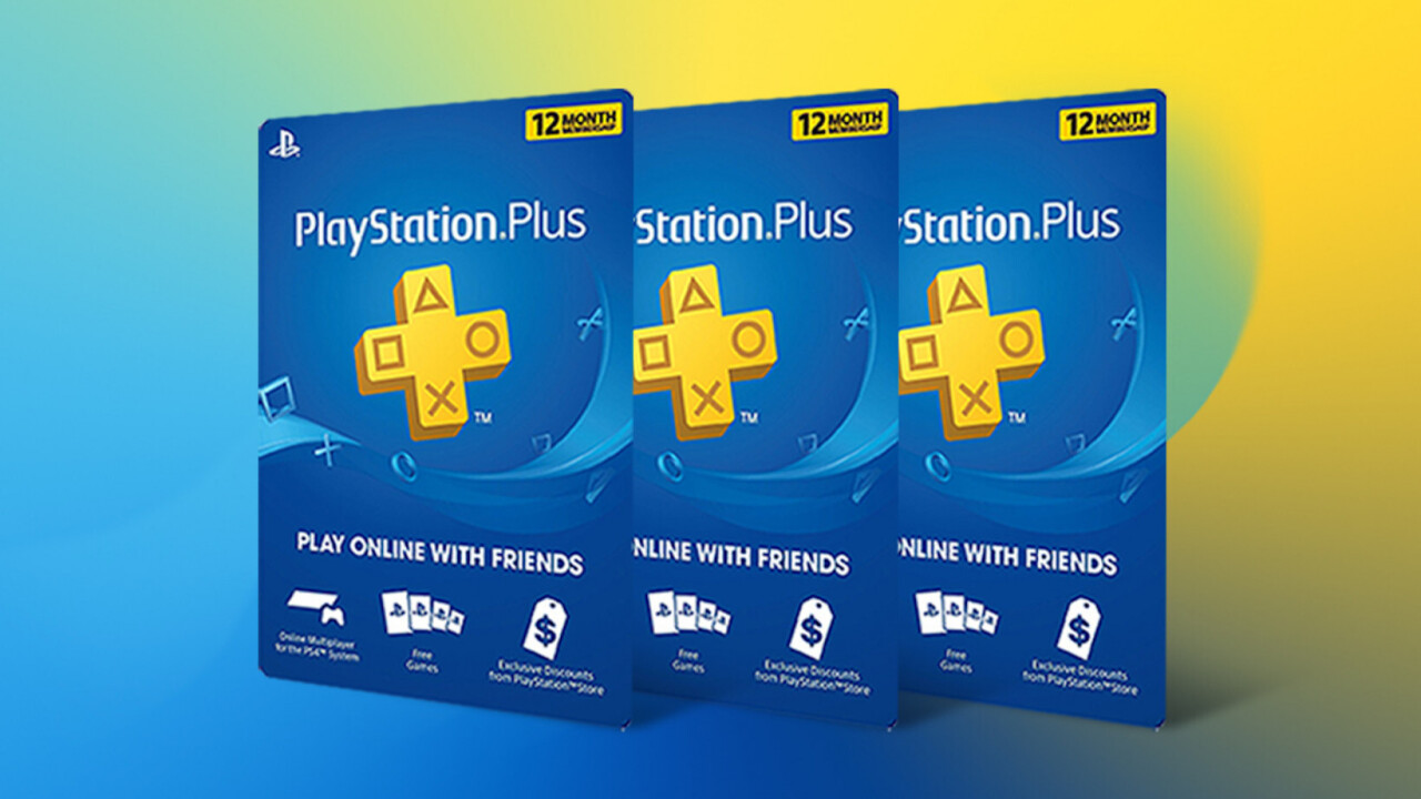 For $90, you can land three years of PlayStation Plus. How you use it is up to you.