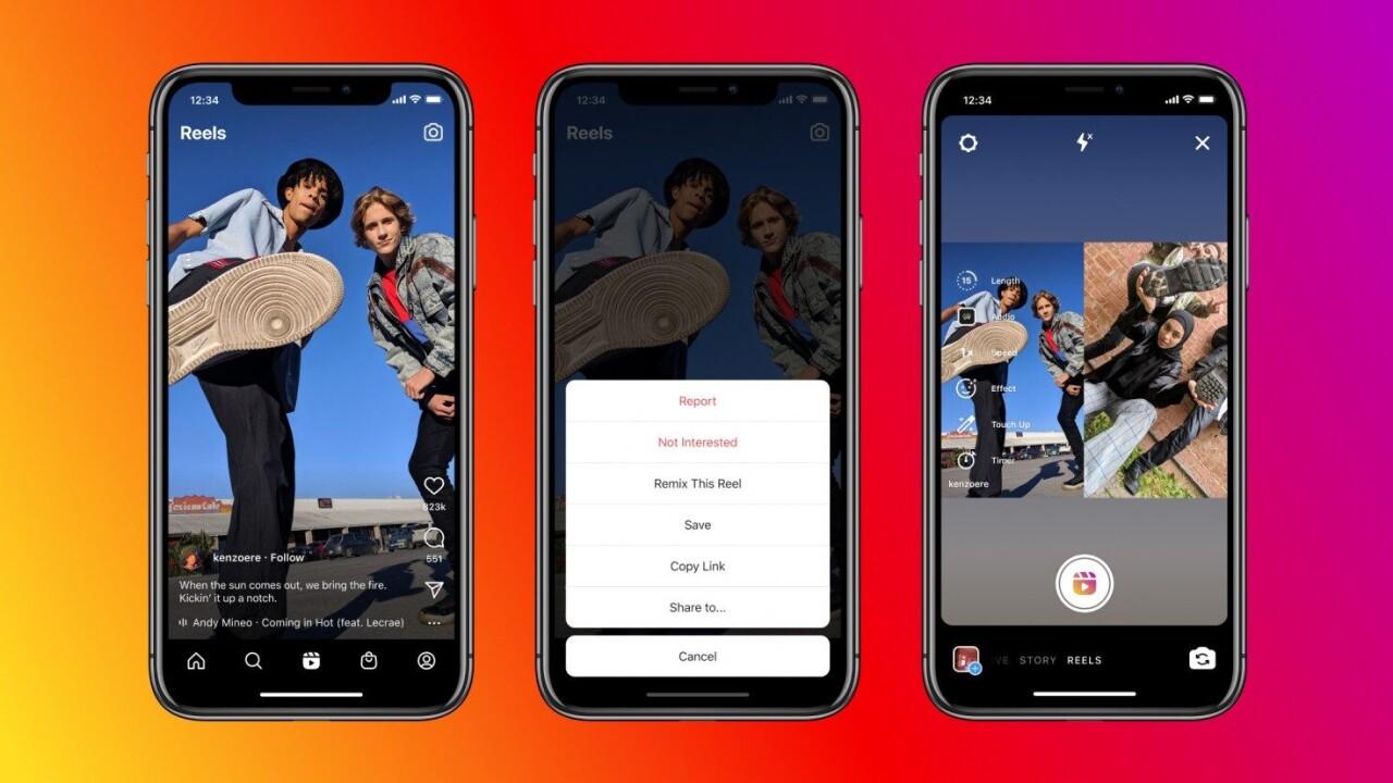 Instagram now lets you create reaction Reels, just like TikTok Duets