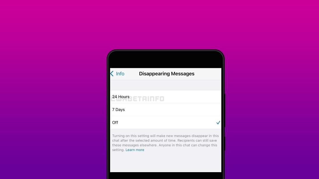 WhatsApp reportedly working on messages that disappear after 24 hours