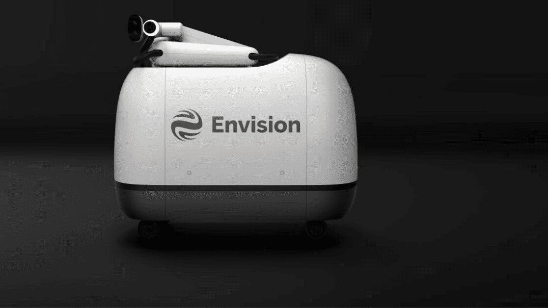 Okay, this EV charging robot is wicked!
