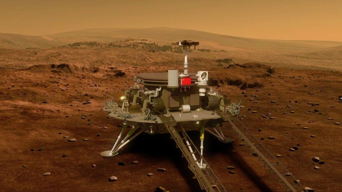 China to land a rover on Mars in mid-May — here's how it'll work