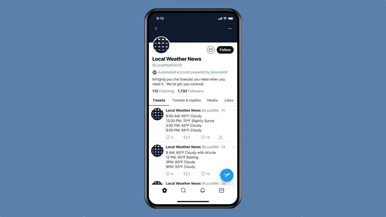 Twitter will start labeling 'useful' bot accounts from July