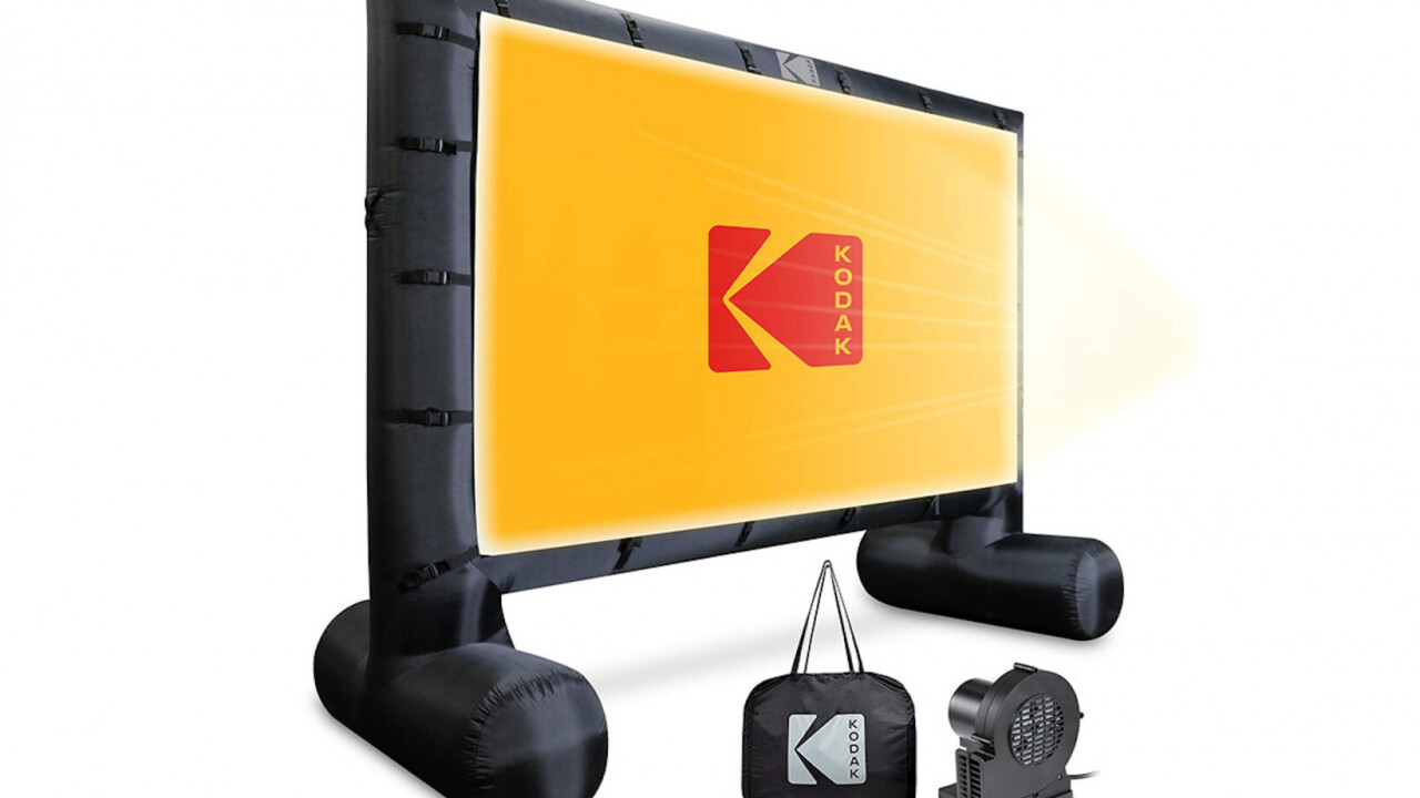 Get one of these Kodak projectors for the ultimate summer movie night experience
