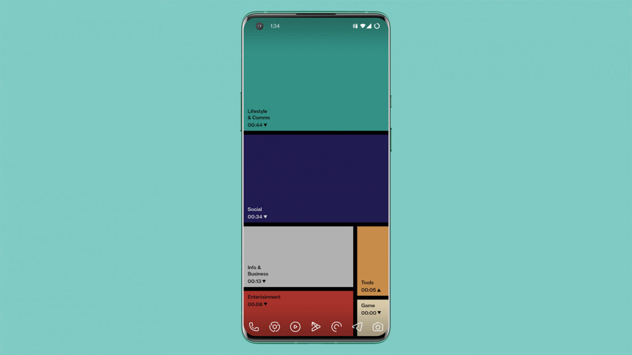 OnePlus' slick live wallpaper will guilt you into using your phone less