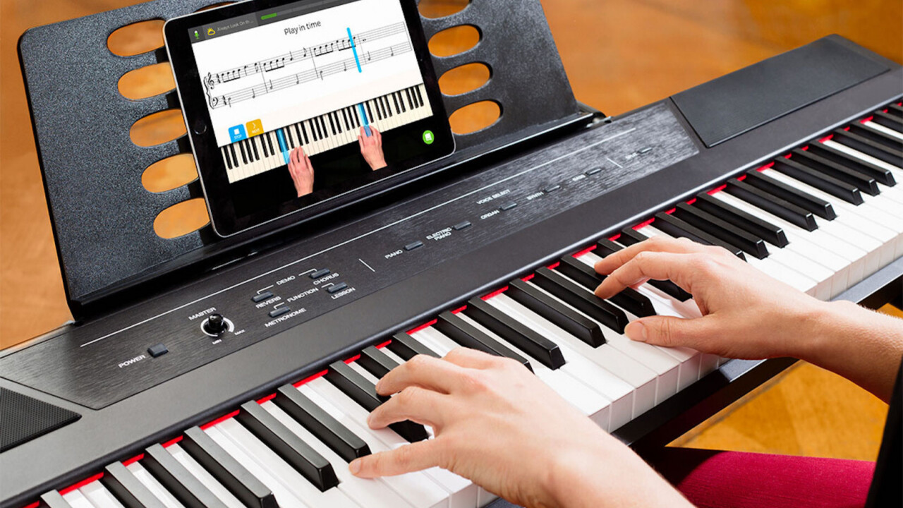 Skoove enlists AI to turn you into a serious piano player without the frustration