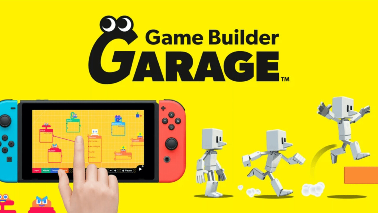Nintendo announces Game Builder Garage, an easy way to make your own games