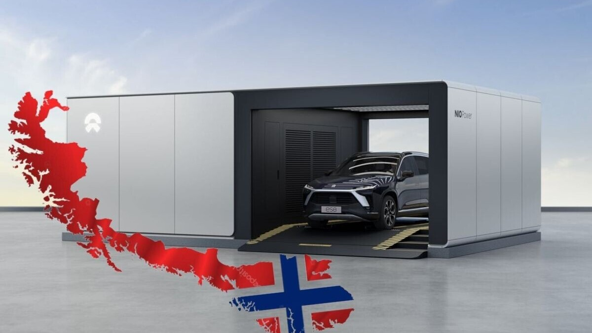 Nio is bringing battery swap stations to Europe, but there's no round of applause