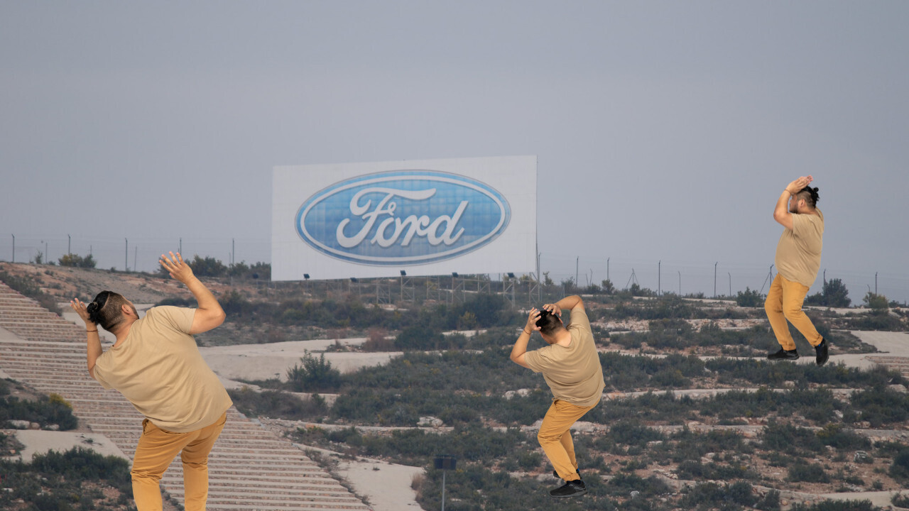 Ford's new in-car advertising patent is what hell looks like