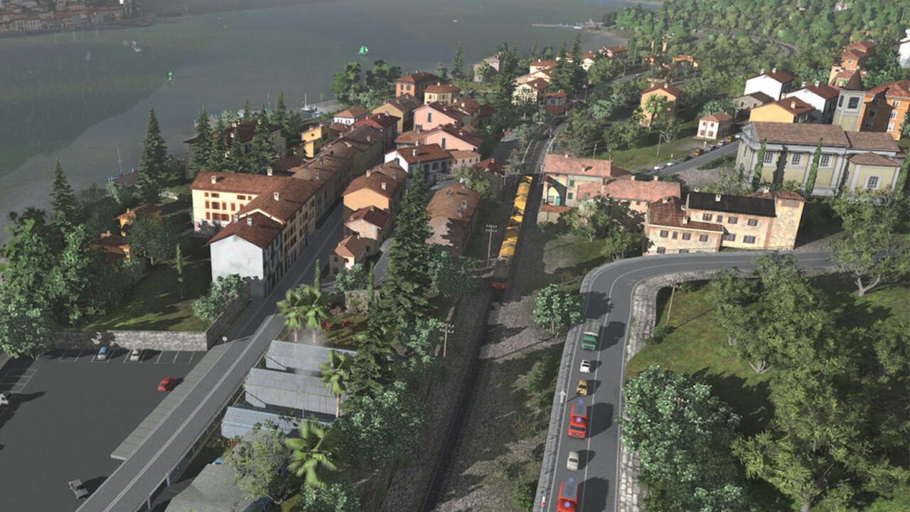 The Trainz Railroad Simulator lets you drive trains and build an entire world around your rails
