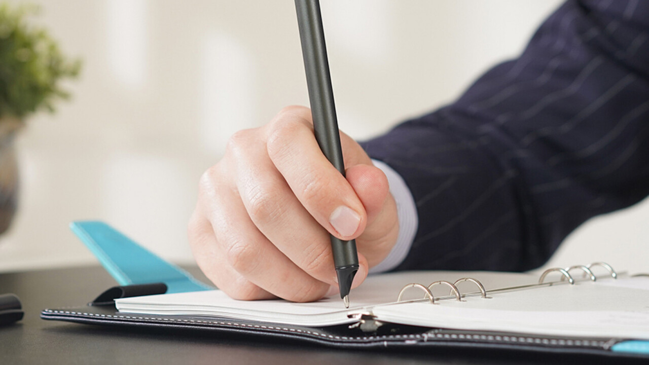 This Smart Pen helps do note-taking right in the digital age — and it's $50 off