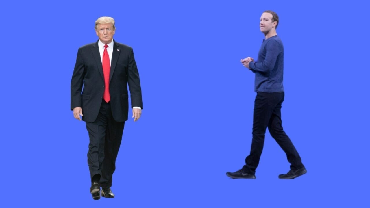 Facebook says Trump's ban could end before 2024 presidential election