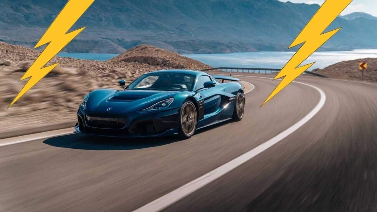 Meet the Nevera, Rimac's superfast and superexpensive electric hypercar