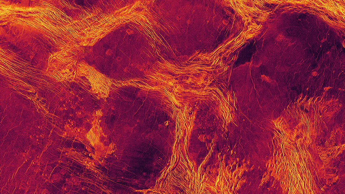 Venus' massively cracked surface suggests it experiences quakes — and could be active