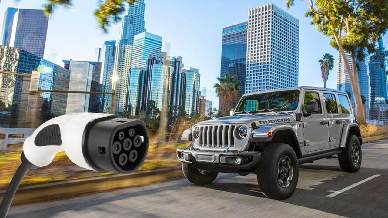 Buckle-up! Jeep promises fully-electric versions of all its SUVs