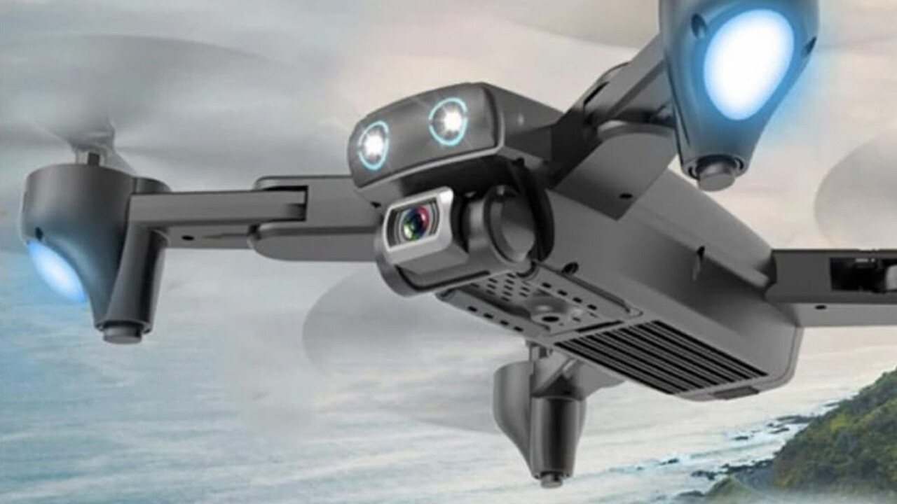 Get this quadcopter drone with a 4K camera and awesome flight stabilization for $99