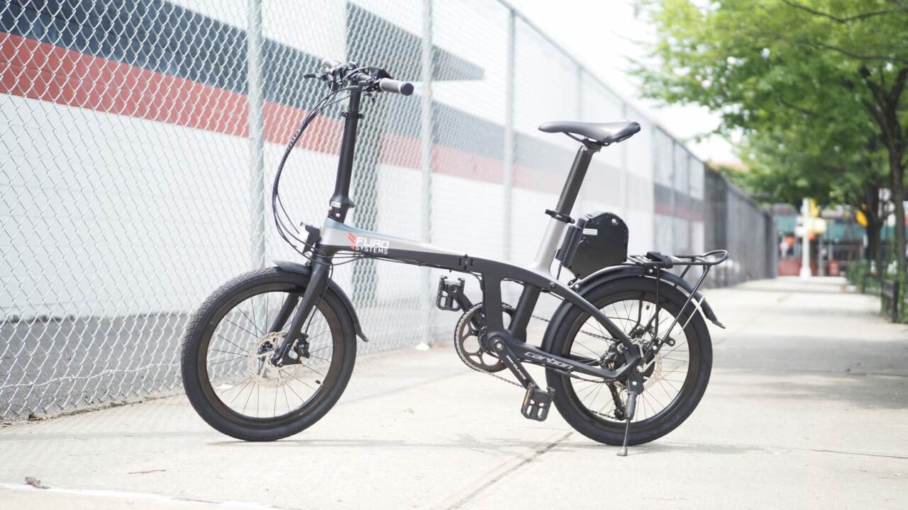 Furo X review: A carbon fiber folding ebike for weight weenies