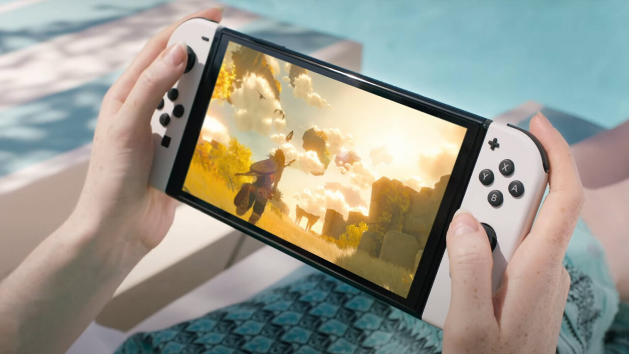 The Nintendo Switch OLED is nice, but I still want a Switch Pro for Zelda