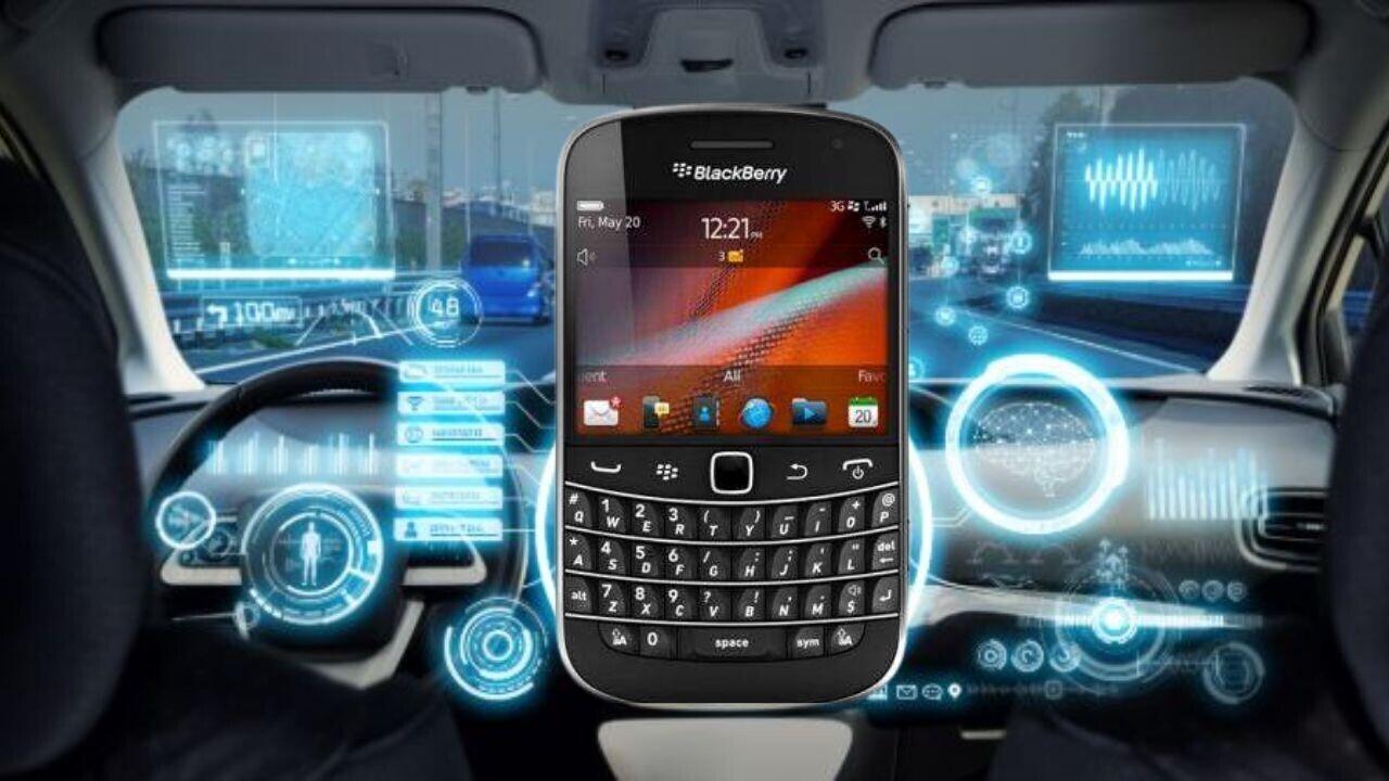What's BlackBerry tech doing in EVs?