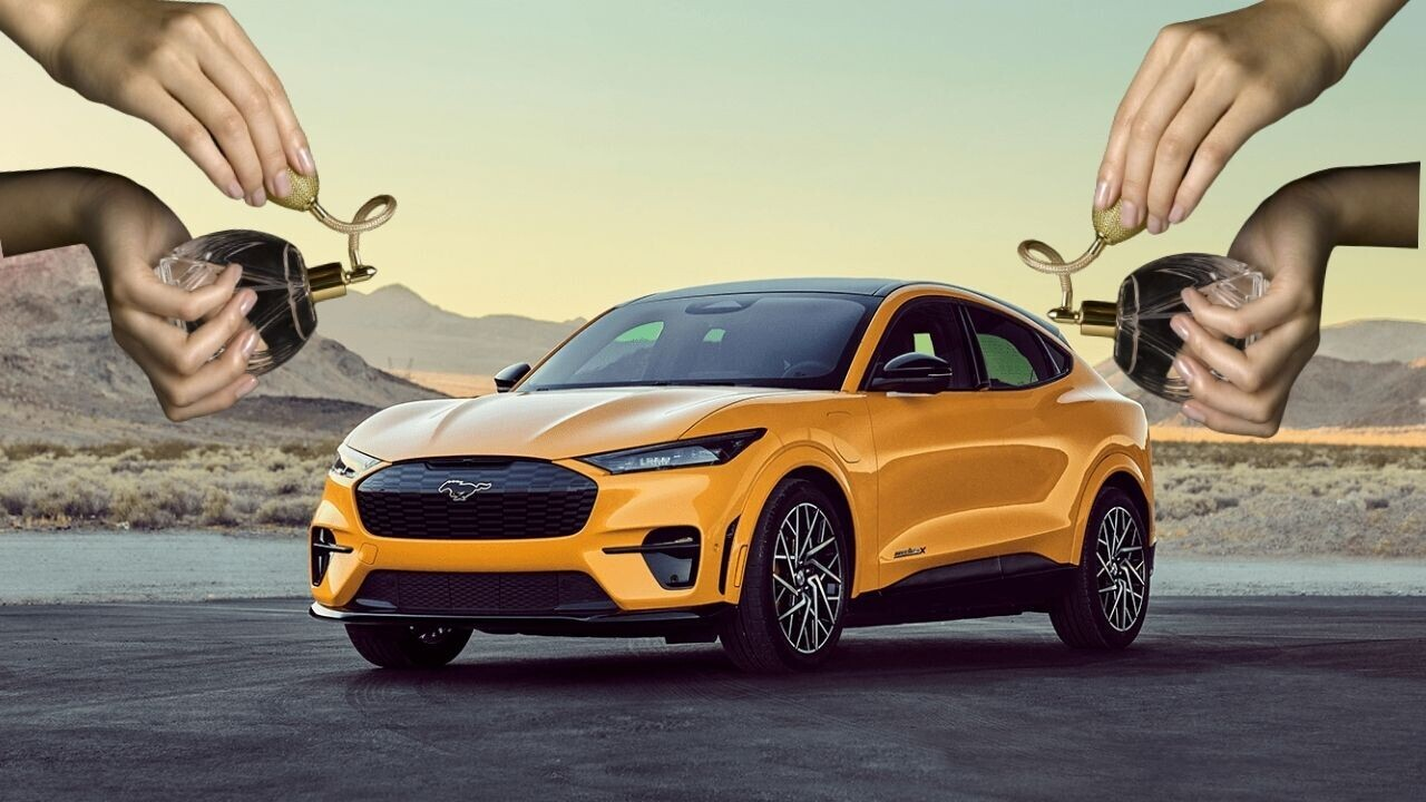 Ford finds the most what-the-fuck strategy to market its EVs: a PERFUME