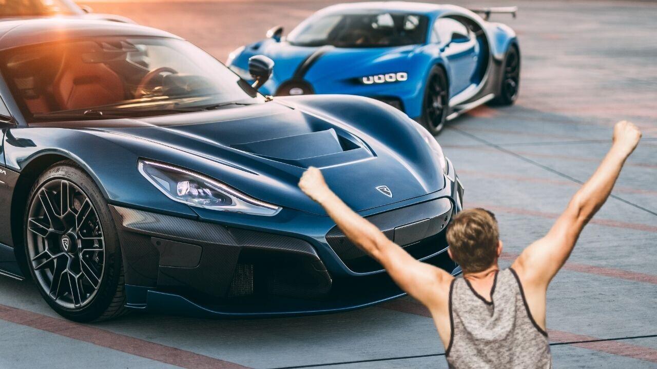 EV hypercar startup Rimac swallows Bugatti to become… BUGATTI RIMAC