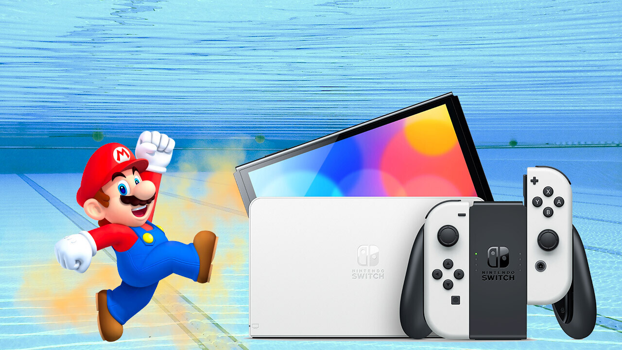 Nintendo announces an OLED Switch and now I'm swimming in pee