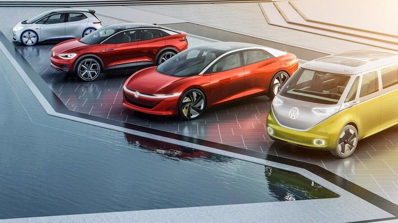 Volkswagen Group NEARLY TRIPL3D its EV deliveries this year