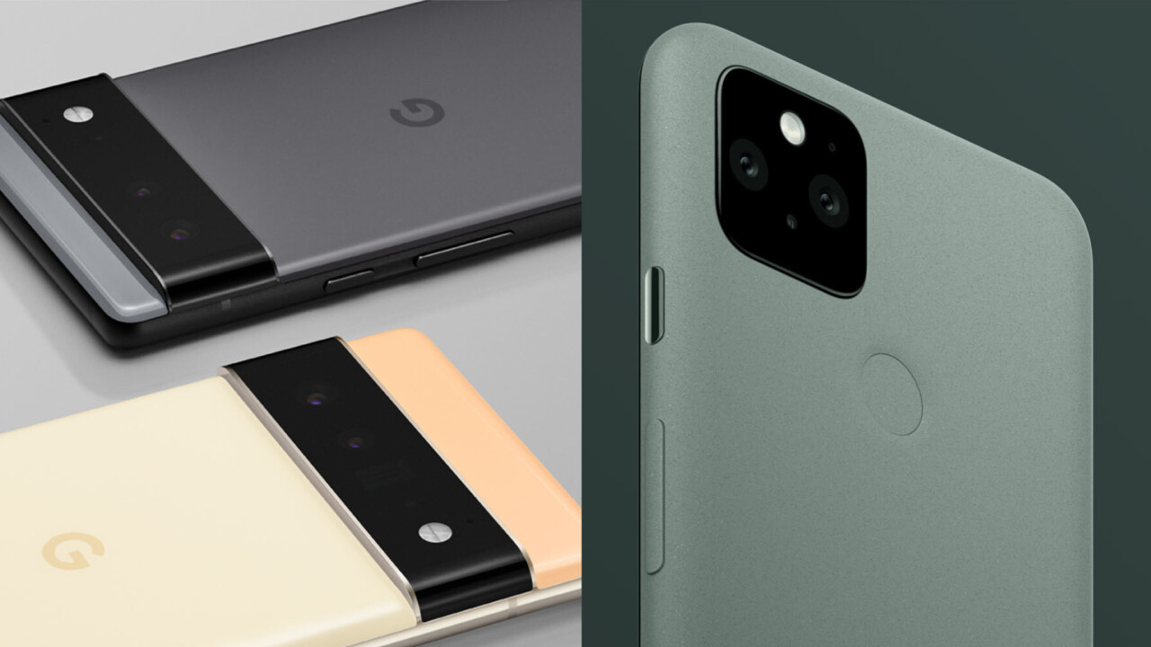Here's how much bigger the Pixel 6's camera sensor is than the Pixel 5's (probably)