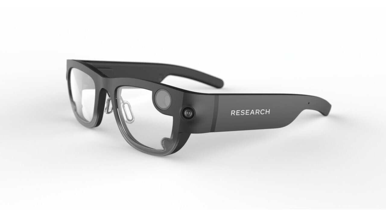 Facebook's 'Project Aria' wearable looks like lame old Snap-style glasses
