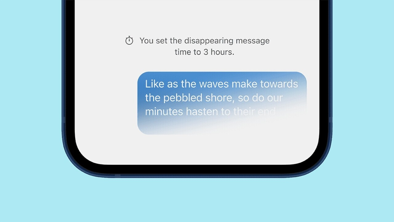 How to set a disappearing message timer for all your chats in Signal