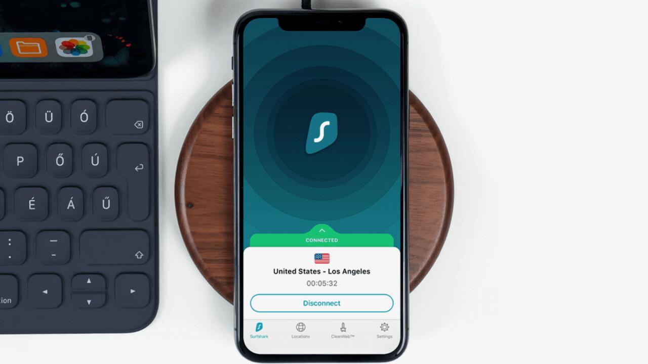Surfshark VPN offers full protection for 3 years for under $60