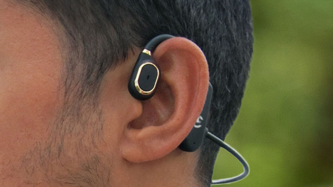 These open-ear headphones deliver premium sound while never compromising your safety
