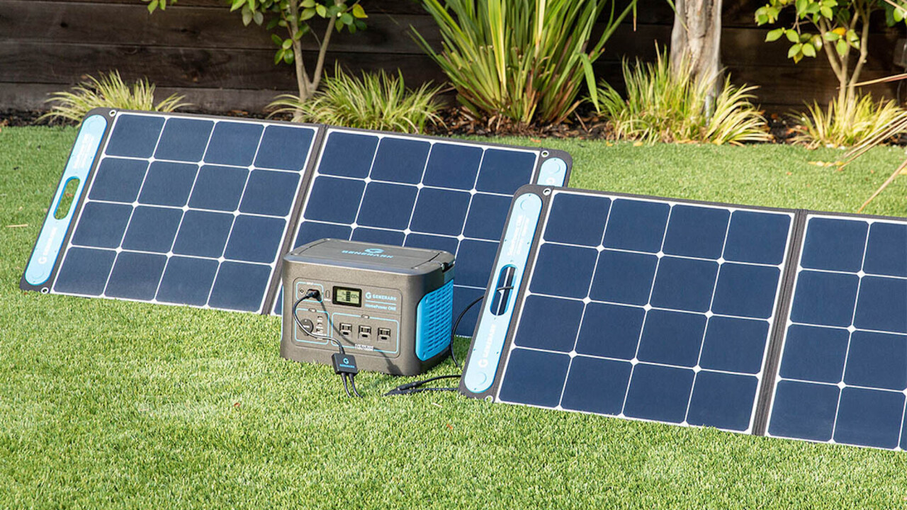 This ever-ready power station and solar panel are your ultimate power backup — and it's $500 off