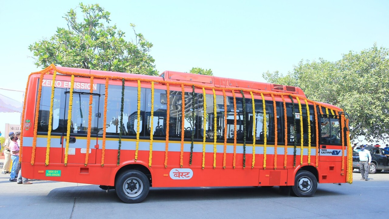 Mumbai wants India's EV crown — and it's buying 1,900 buses to prove it