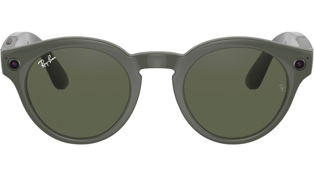 Leaked images of the Facebook and Ray-Ban glasses look just like Snap Spectacles