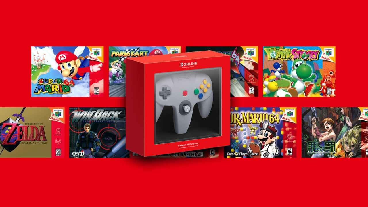 The Nintendo Switch is about to get classic N64 games — and its controller