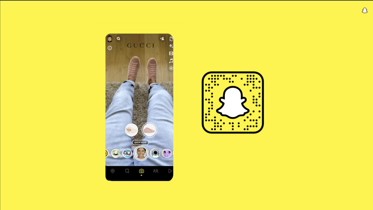 Snap thinks AR will become the new norm in online shopping