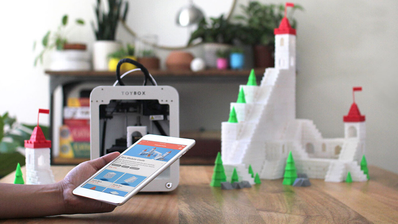 This kid-centric 3D printer can help kids create hundreds of awesome toy ideas in minutes