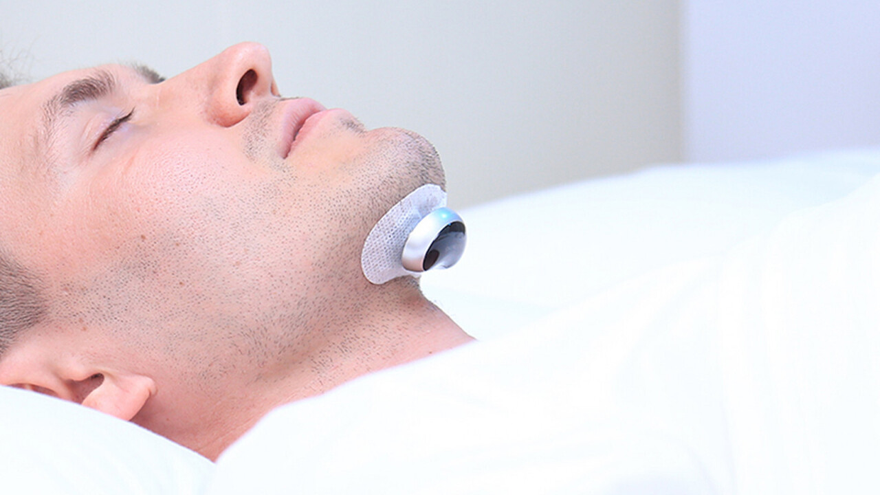This anti-snoring device safely stops the nocturnal rumblings that keep everybody awake
