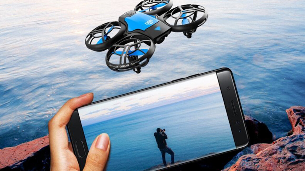 This Ninja Dragon Max Flip drone is a brilliant flyer, has an HD cam, and it's up to 50% off