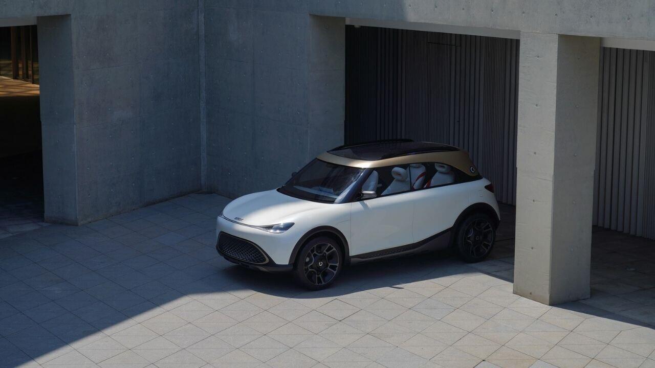 Smart's Concept #1 is sleek but too damn gold