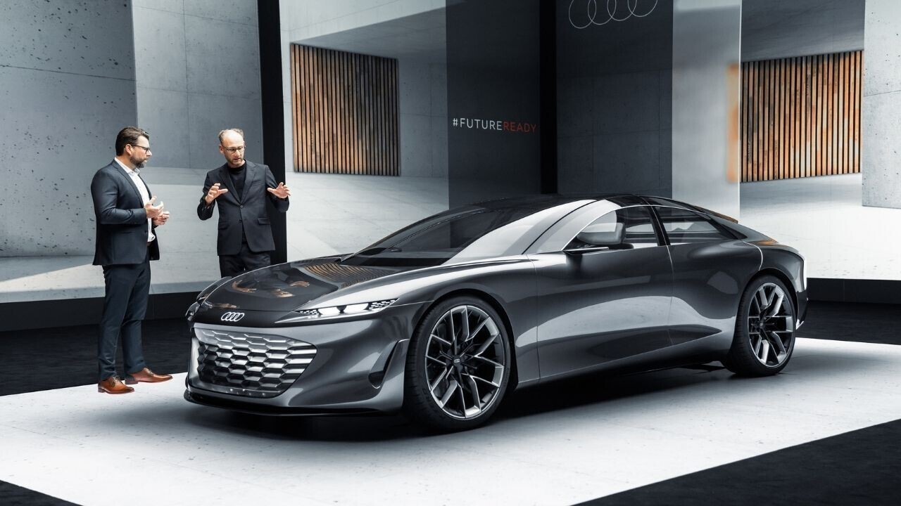 Feast your eyeballs on the beautiful details in Audi's ultra-luxurious concept EV