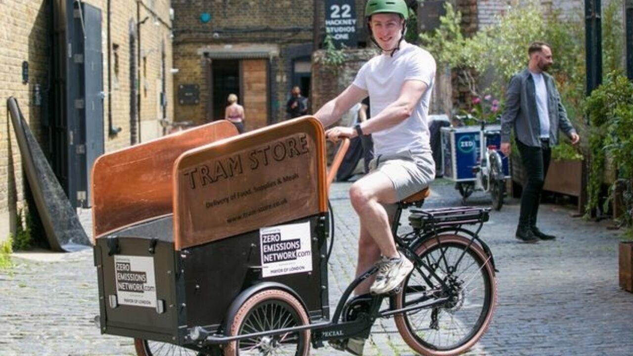 UK's first shared e-cargo bike scheme launches in London
