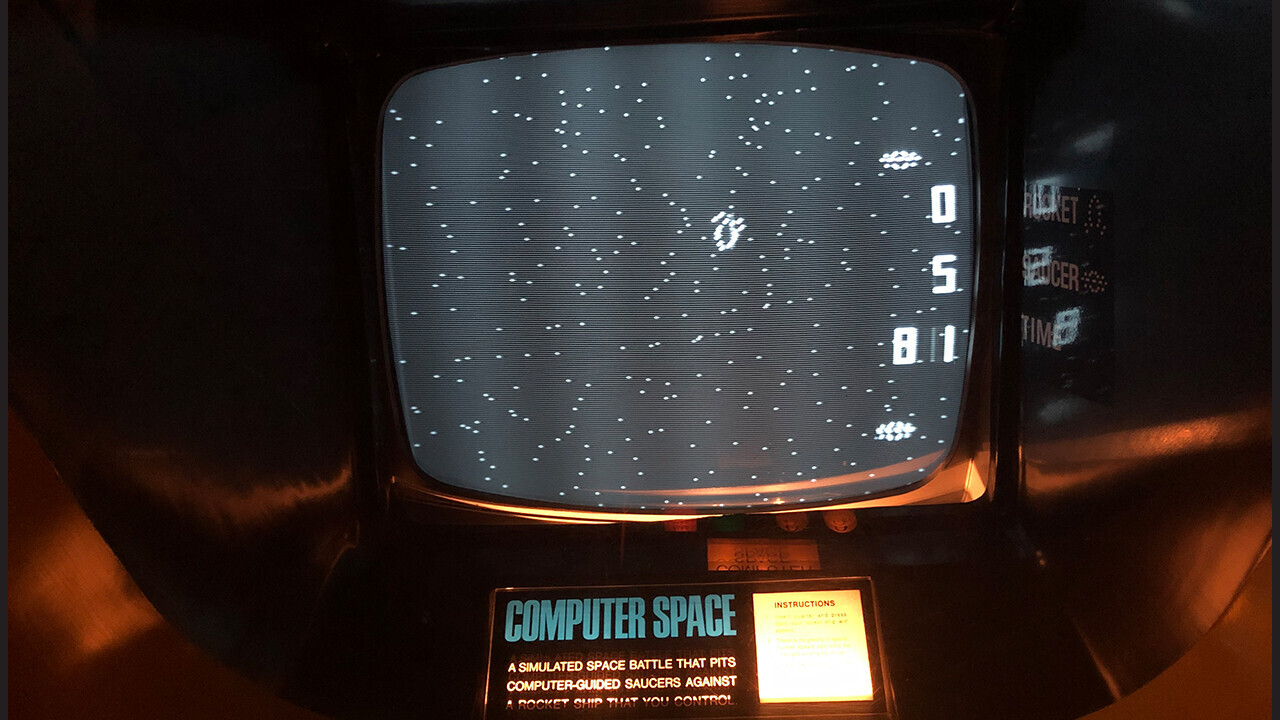 Why Computer Space is the most influential video game you've never heard of