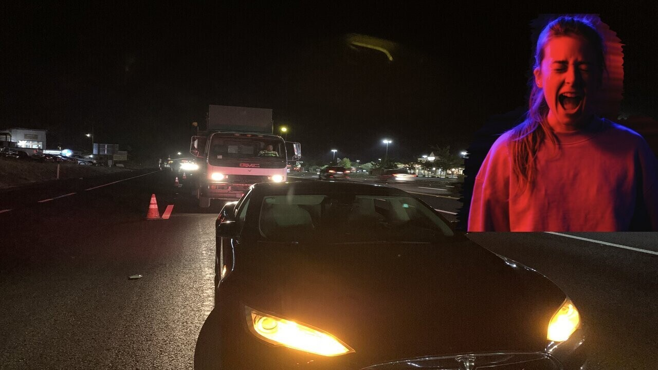 A Tesla's highway breakdown reveals woes for EV safety