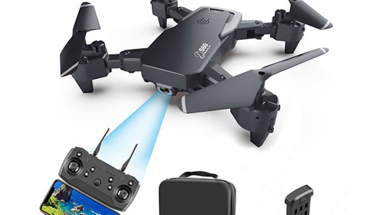 This 4K drone with GPS tracking and a host of flight features is now on sale for under $70