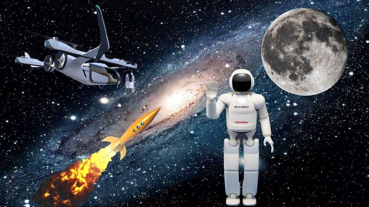 Forget about cars: Honda wants flying vehicles, avatar robots, and rockets