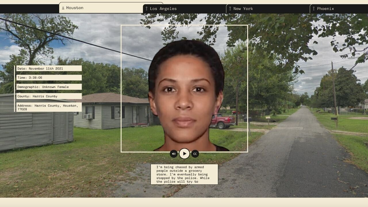 Artists create AI that predicts who the police will kill next