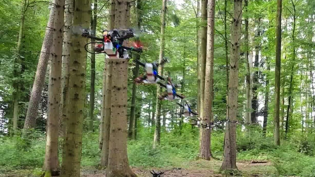 Drones can now fly through forests at 40kmph — run and hide, humans