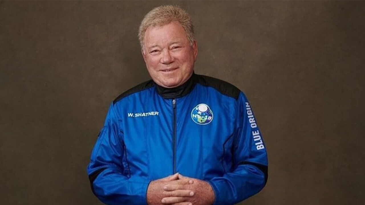 William Shatner is the oldest person in space — but we shouldn't promote space travel to the elderly