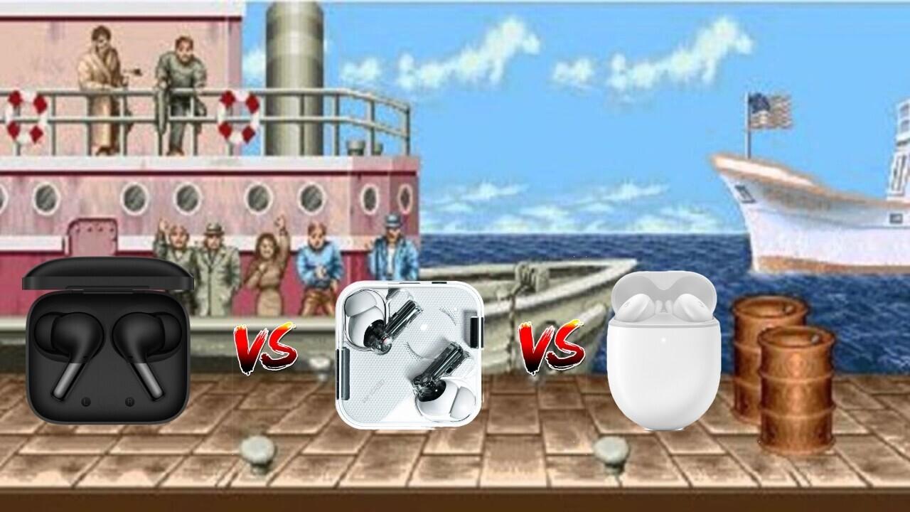 EARBUD BATTLE ROYALE: OnePlus Buds Pro vs. Nothing Ear 1 vs. Google Pixel Buds A